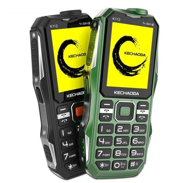 Điện thoại 3 sim loa to Kechaoda K112