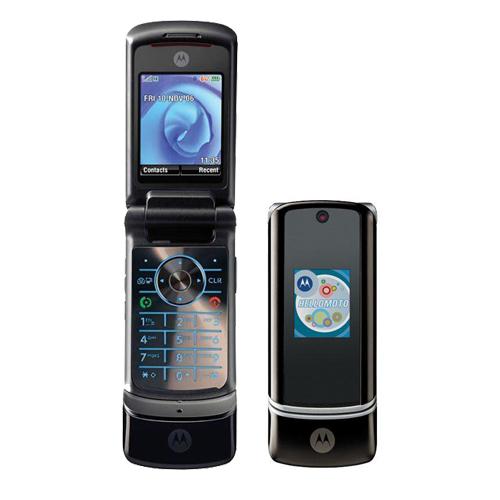 Điện thoại Motorola K1 đen