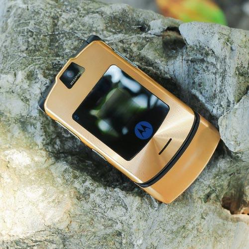 Điện thoại Motorola V3i màu gold