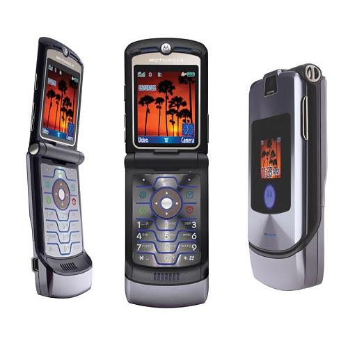 Điện thoại Motorola V3i màu xám