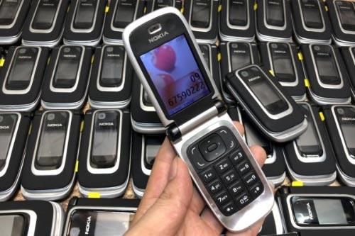 Điện thoại nắp gập Nokia 6131