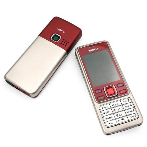 Nokia 6300 màu đỏ