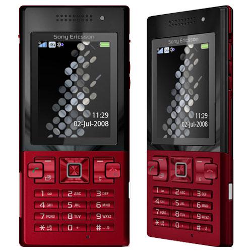 điện thoại sony ericsson t700 đỏ