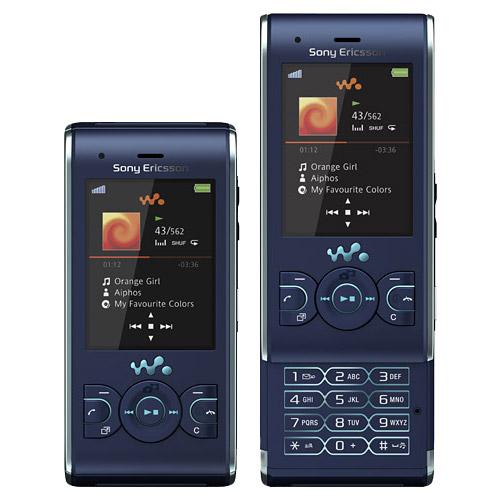 điện thoại sony ericsson w595i xanh