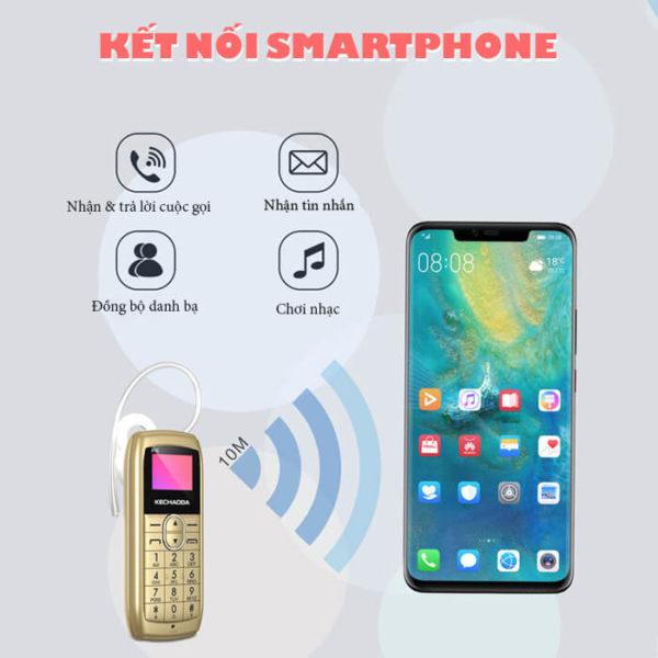 Kechaoda K10 hỗ trợ kết nối Smartphone