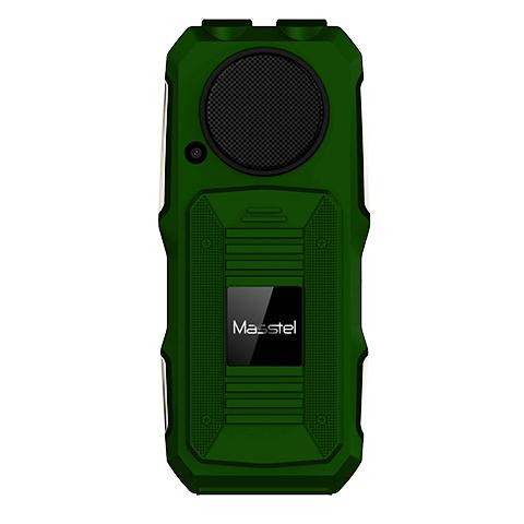 Mặt sau Masstel Play 30 xanh lá