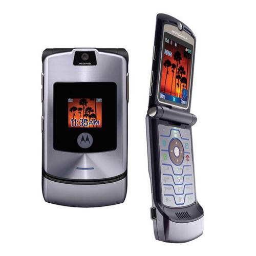 Motorola V3i màu xám