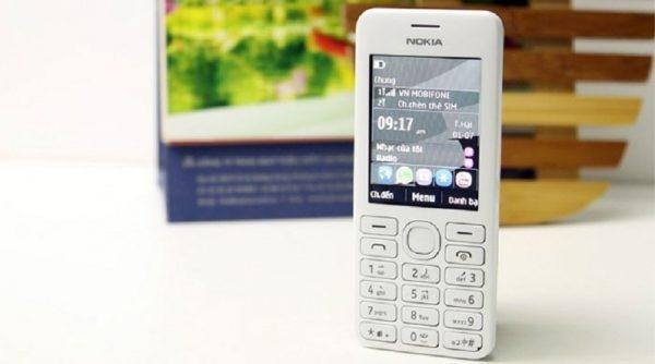Nokia 206 màu trắng