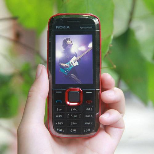 Nokia 5130 Xpressmusic màu đỏ