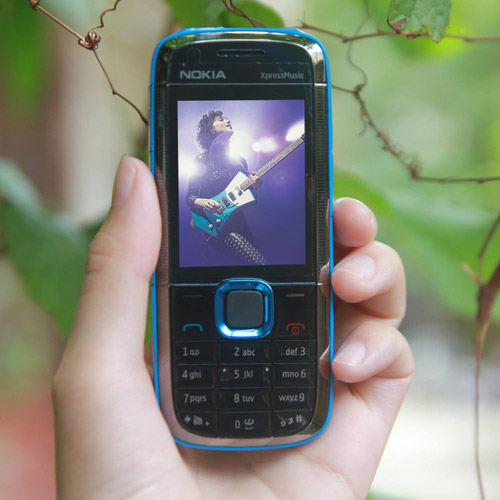 Nokia 5130 Xpressmusic màu xanh