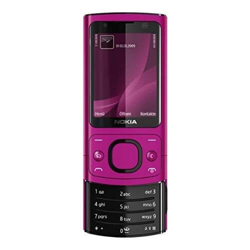 Nokia 6700s màu hồng