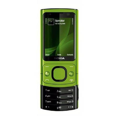 Nokia 6700s màu xanh lá