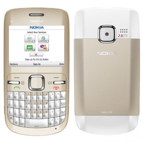 Nokia C300 vàng
