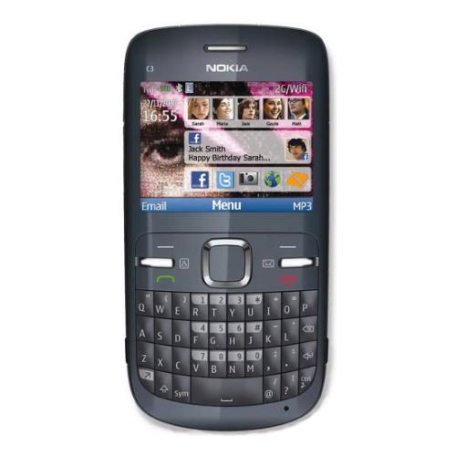 Nokia C300 xanh