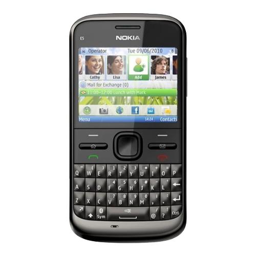 Điện thoại Nokia E5 màu đen