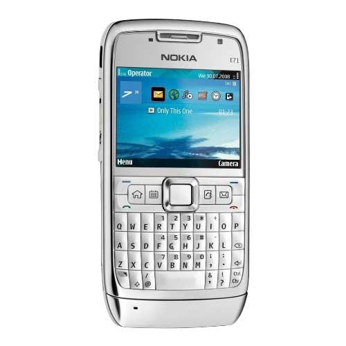 Nokia E71 màu trắng