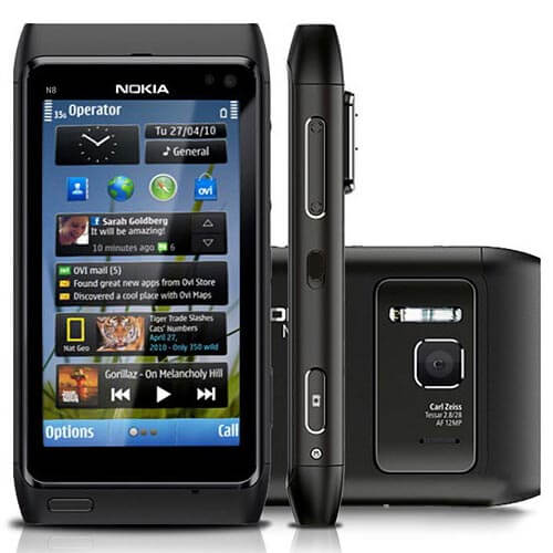 Nokia N8 màu đen