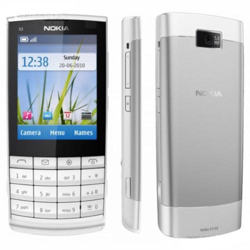 Nokia X3-02 màu trắng