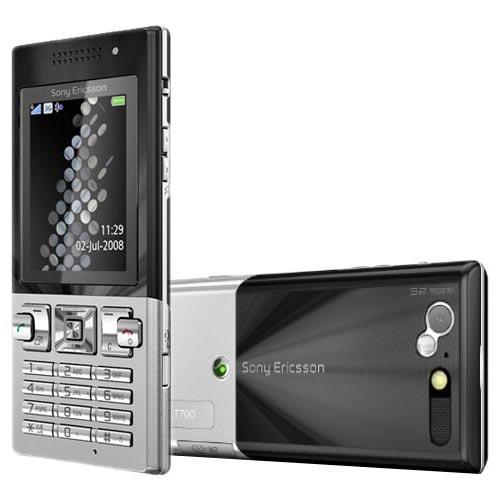 Sony T700 trắng đen