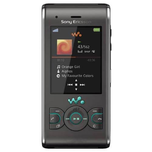 Sony W595i màu đen