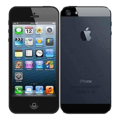 iPhone 5 cũ màu đen