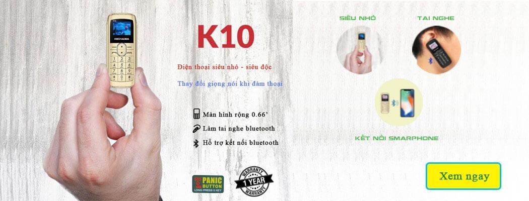 Điện thoại Kechaoda K10 siêu nhỏ