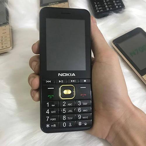 Nokia N7000 màu đen