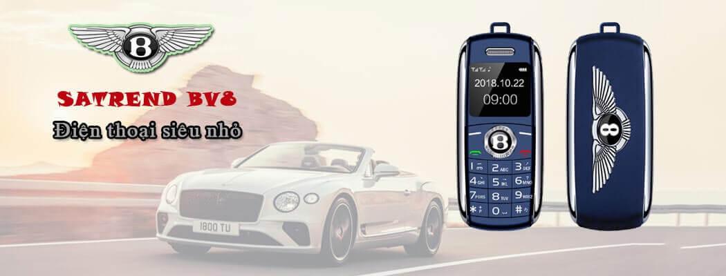 Điện thoại Bentley BV8 siêu nhỏ