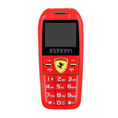 Điện thoại mini hình xe hơi F488 đỏ