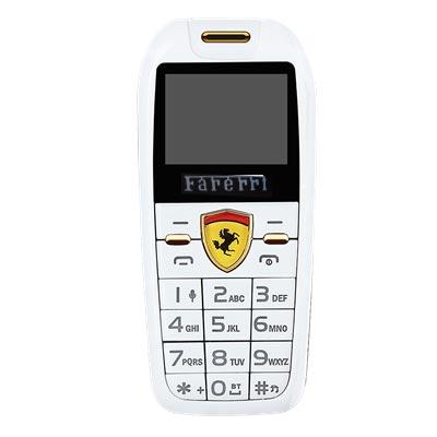 Điện thoại mini hình xe hơi F488 trắng