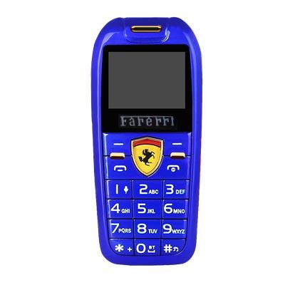 Điện thoại mini hình xe hơi F488 xanh