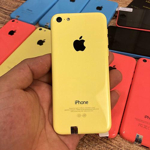 iphone 5c màu vàng