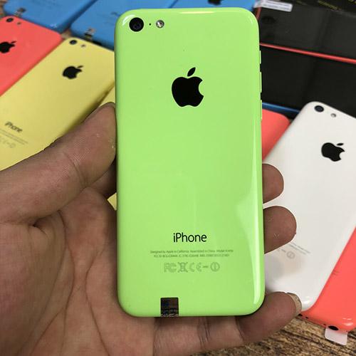 iphone 5c màu xanh lá
