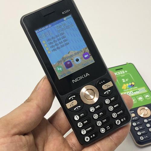 Nokia K332+ màu đen