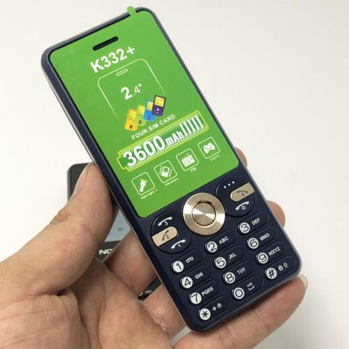 Nokia K332+ màu xanh