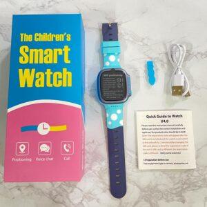 Đồng hồ thông minh Y92 màu xanh